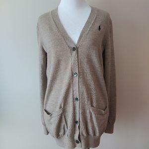 Ralph Lauren Sport Merino Wool Grandpa Sweater